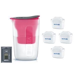 Brita Fill & Enjoy Fun růžová + 4 ks filtru Maxtra Plus