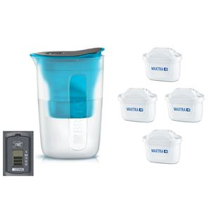 Brita Fill & Enjoy Fun modrá + 4 ks filtru Maxtra Plus