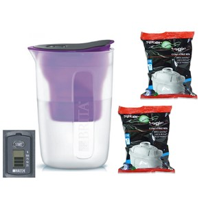 Brita Fill & Enjoy Fun fialová + 2 ks Filter Logic FL-402H