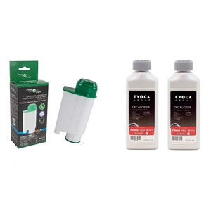 Filter Logic CFL-902B (za Brita Intenza+) + Saeco CA6700 odvápňovač 500 ml